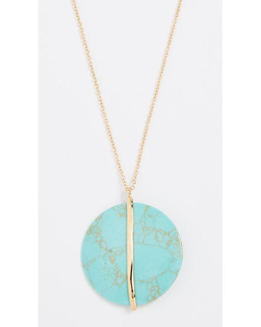 Gorjana - Multicolor Brinn Pendant Adjustable Necklace - Lyst