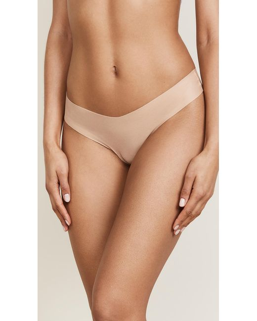 Commando - Natural Cotton Thong - Lyst