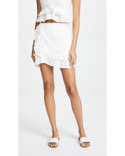 Red Carter - White Mai Skirt - Lyst