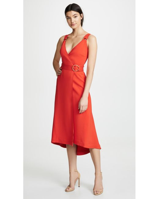 A.L.C. Haley Dress in Red - Lyst
