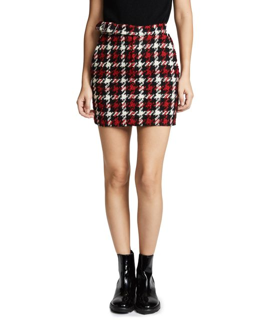 2872321d7 ... McQ Alexander McQueen - Multicolor Plaid Mini Skirt - Lyst
