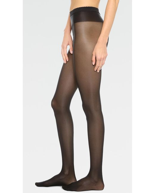 Wolford - Black Neon 40 Tights - Lyst