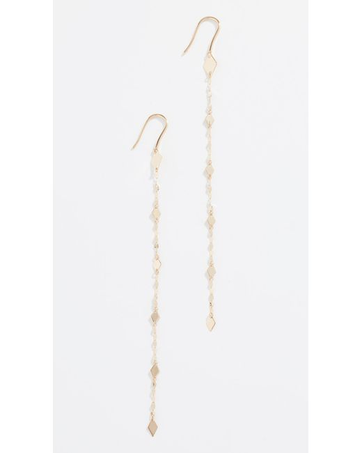 Lana Jewelry - Metallic 14k Kite Duster Earrings - Lyst