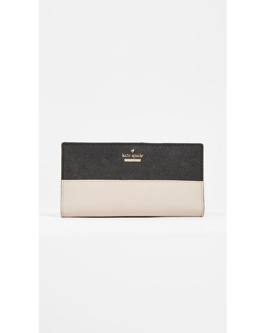 Kate Spade - Natural Cameron Street Stacy Wallet - Lyst