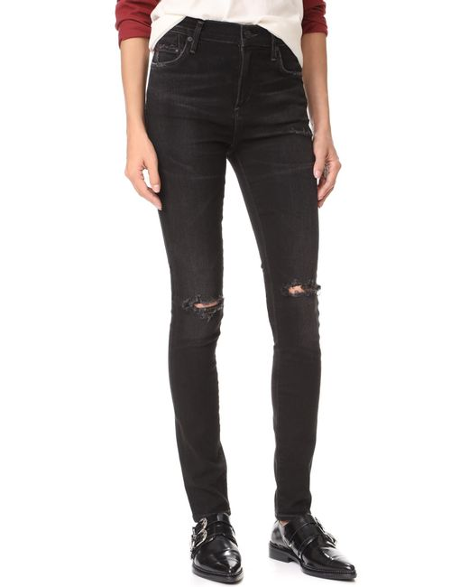 Citizens of Humanity - Black Rocket High Rise Skinny Jean - Lyst