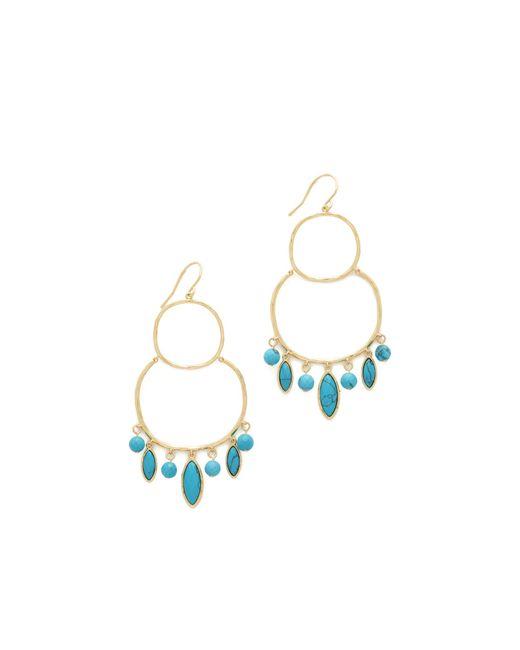 Gorjana | Multicolor Eliza Gemstone Chandelier Earrings | Lyst