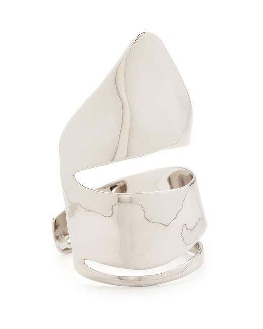 Alexis Bittar | Metallic Liquid Armor Cuff Bracelet | Lyst