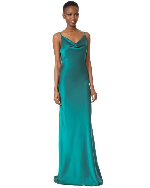 Black Halo   Green Bessette Gown   Lyst