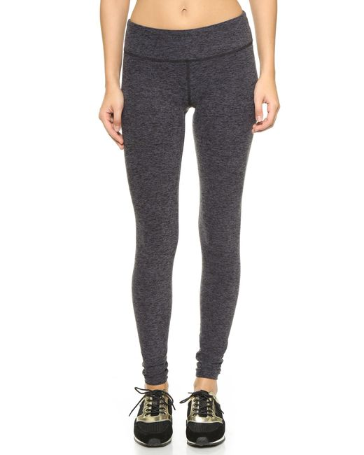 Beyond Yoga | Black Space Dye Performance Leggings | Lyst