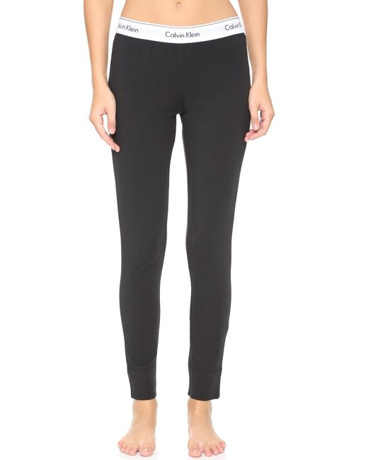 Calvin Klein | Black Modern Pajama Pants | Lyst