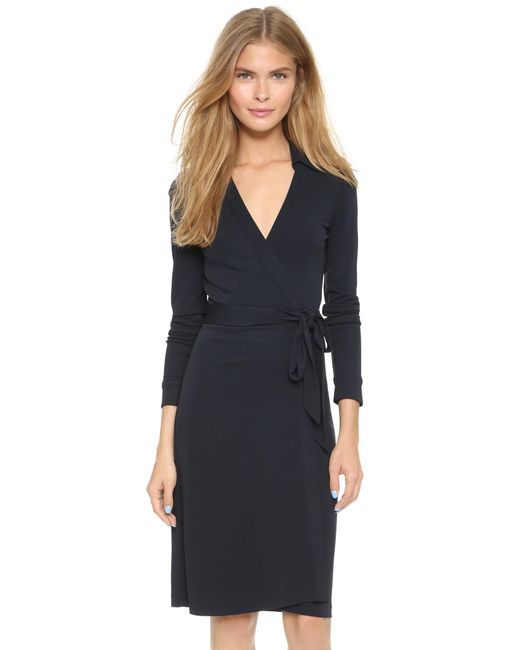 Diane von Furstenberg | Black New Jeanne Two Dress | Lyst