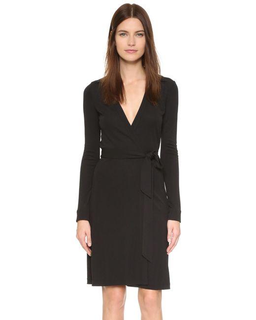 Diane von Furstenberg   Black New Jeanne Two Dress   Lyst