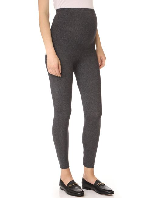 David Lerner | Gray Maternity Leggings | Lyst