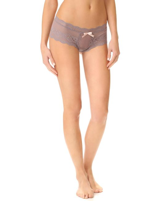 Eberjey | Gray Anouk Lace Briefs | Lyst