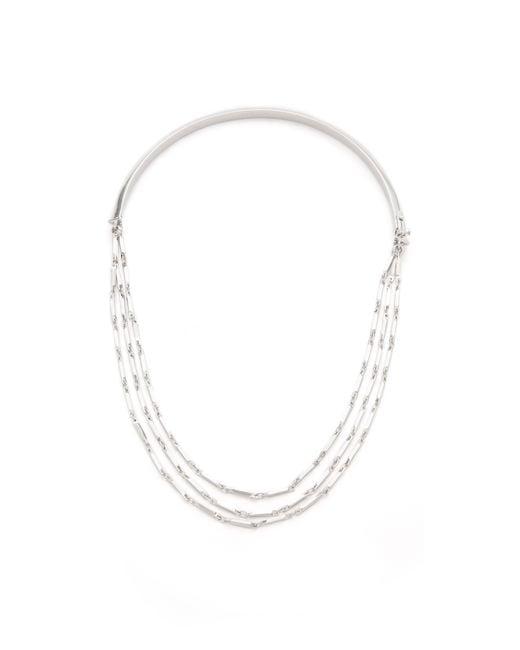 Eddie Borgo | Metallic Peaked Chain Necklace | Lyst