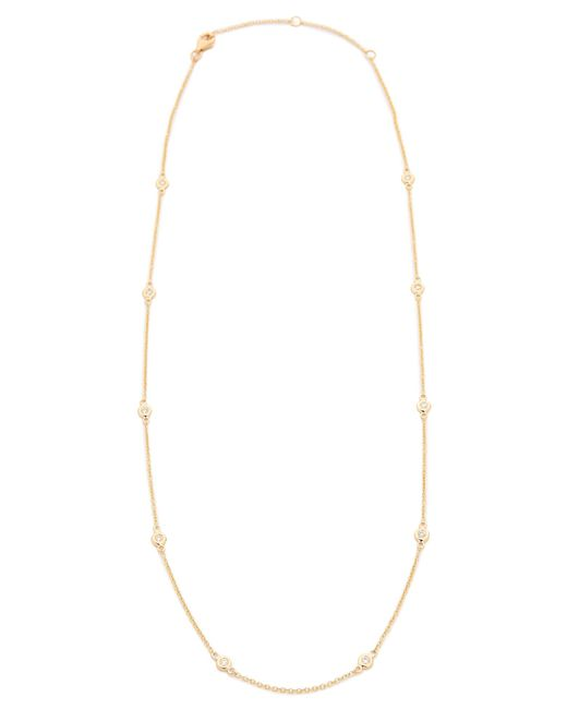 EF Collection | Metallic 10 Diamond Strand Necklace | Lyst