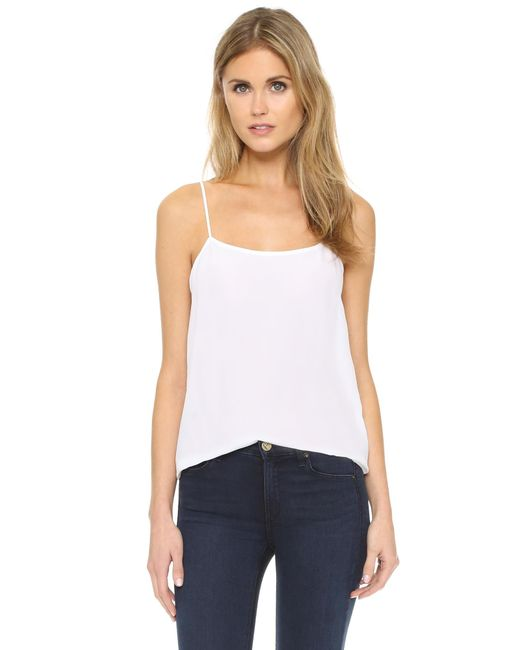 Equipment | White Cara Top | Lyst