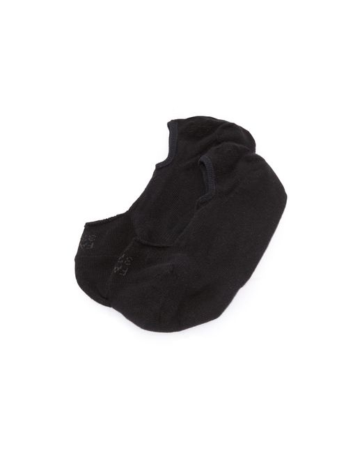 Falke | Black Invisible Step Socks | Lyst