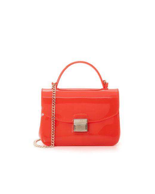 Furla Candy Sugar Mini Cross Body Bag in Red | Lyst