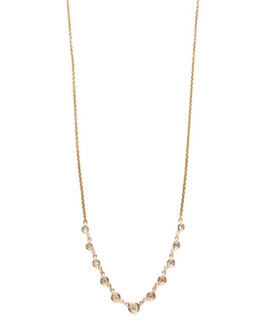 Jacquie Aiche | Multicolor 11 Diamond Emily Necklace | Lyst
