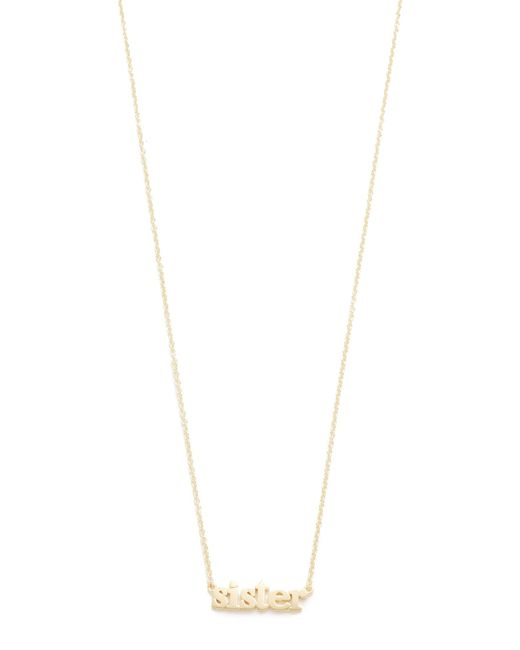 Jennifer Meyer | Metallic Sister Necklace | Lyst