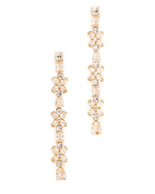 Kate Spade   Metallic Take A Shine Linear Earrings   Lyst