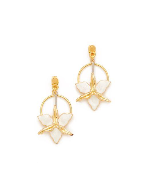 Marni | Multicolor Two-sided Flower Earrings | Lyst
