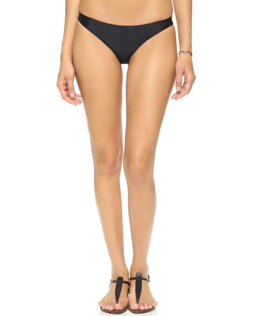 Mikoh Swimwear | Black Miyako Bikini Bottoms | Lyst