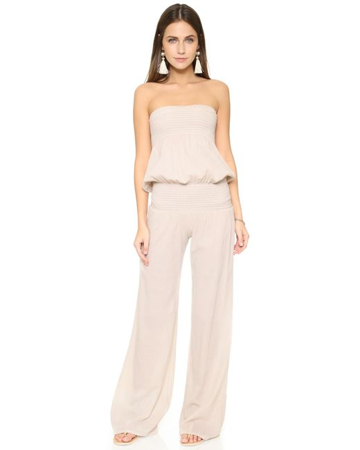 9seed | Natural Zuma Jumpsuit | Lyst