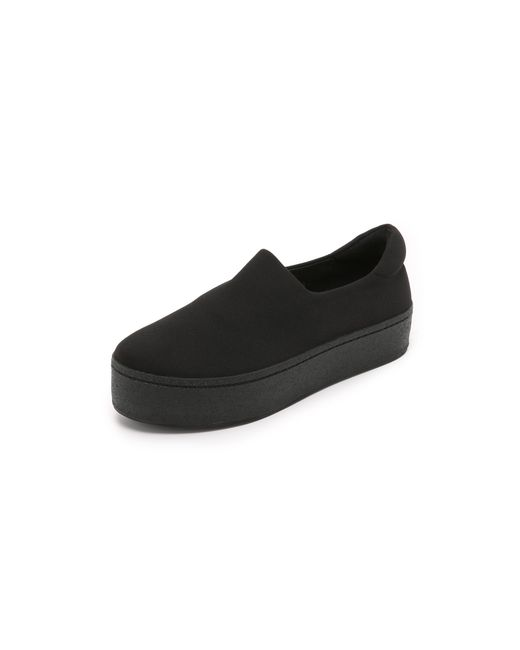 Opening Ceremony | Black Cici Slip On Platform Sneakers | Lyst