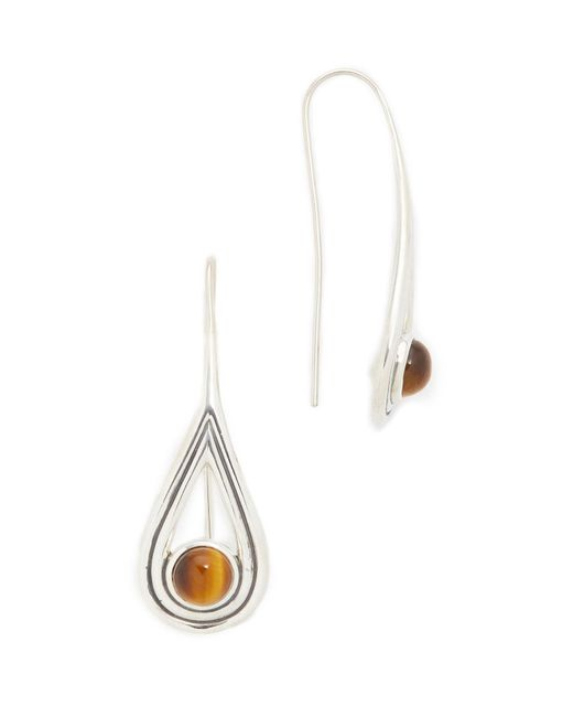 Pamela Love   Metallic Rhea Drop Earrings   Lyst