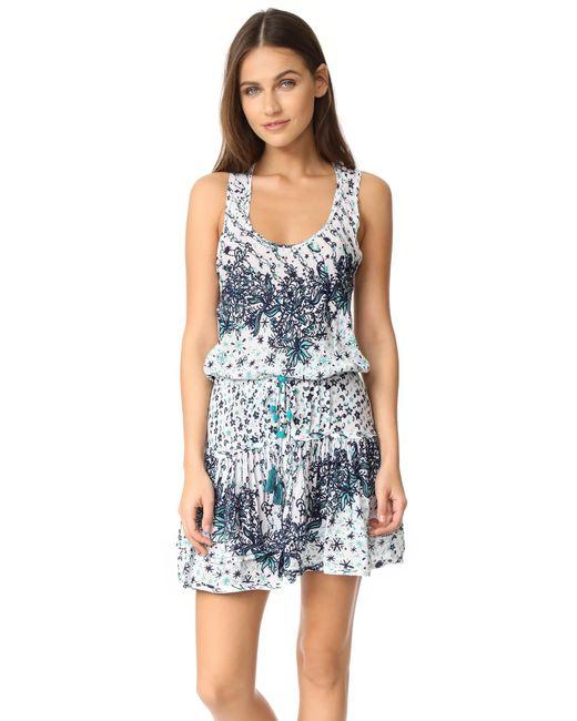 Poupette   Blue Kila Mini Dress   Lyst