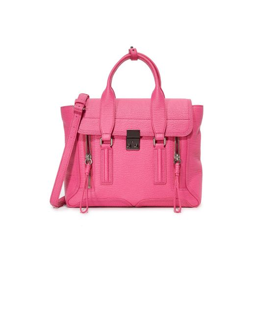 3.1 Phillip Lim | Pink Pashli Medium Satchel Shoulder Bag | Lyst