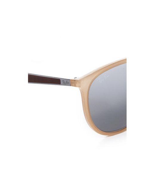 484ad97f8c Ray Ban Aviator Sunglasses With Brow Bar