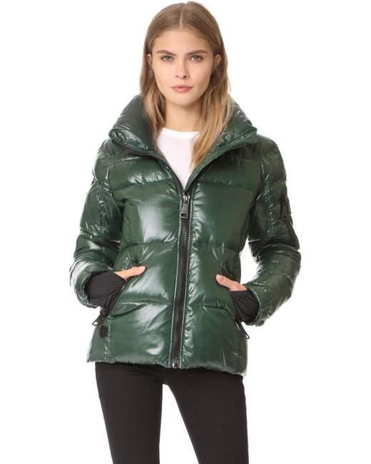 Sam. | Green Freestyle Quilted Jacket | Lyst