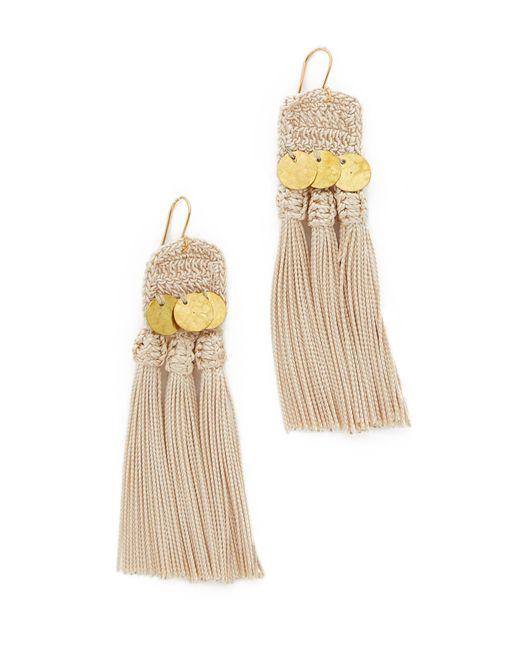 Shashi   Metallic River Earrings   Lyst