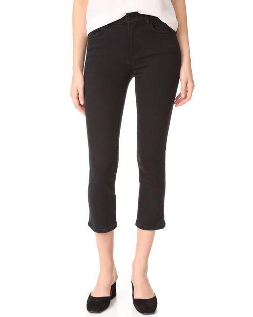 Siwy | Black Jackie Slim Straight Jeans | Lyst