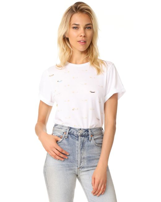 Sonia by Sonia Rykiel | White Tee Shirt | Lyst