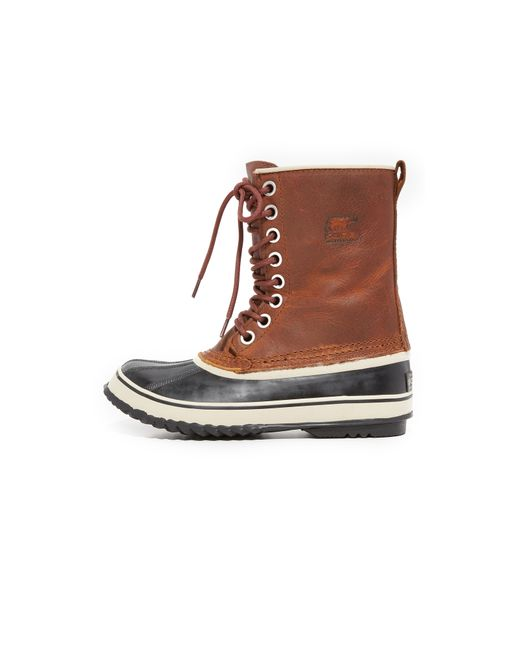 sorel 1964 premium leather boots lyst