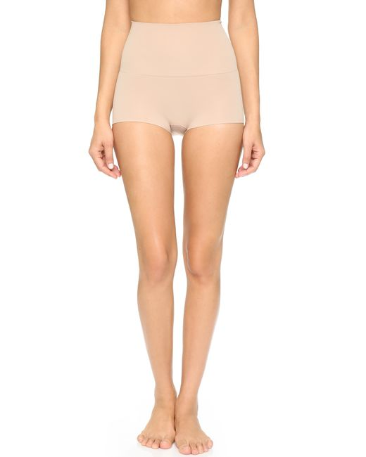 Spanx | Natural Power Boy Shorts | Lyst