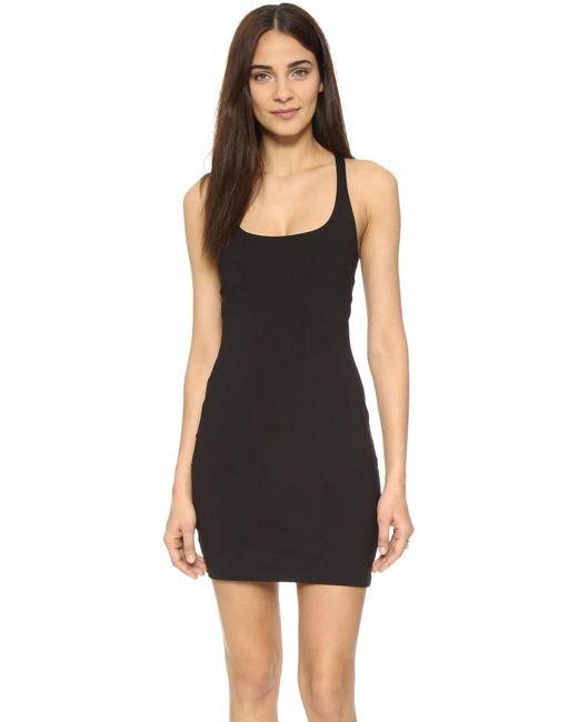 Susana Monaco | Black Racer Mini Dress | Lyst