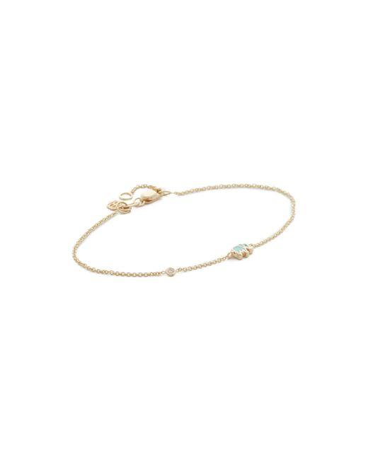 Sydney Evan | Multicolor Mini Elephant Bracelet | Lyst