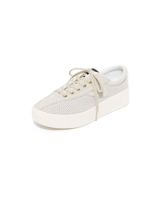 Tretorn | Multicolor Nylite Bold Iii Perforated Platform Sneakers | Lyst