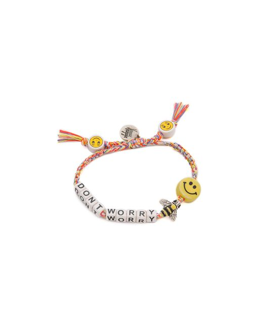 Venessa Arizaga | Metallic Dont Worry Bee Happy Bracelet | Lyst