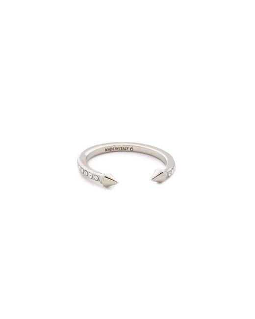 Vita Fede   Metallic Super Ultra Mini Titan Crystal Ring   Lyst