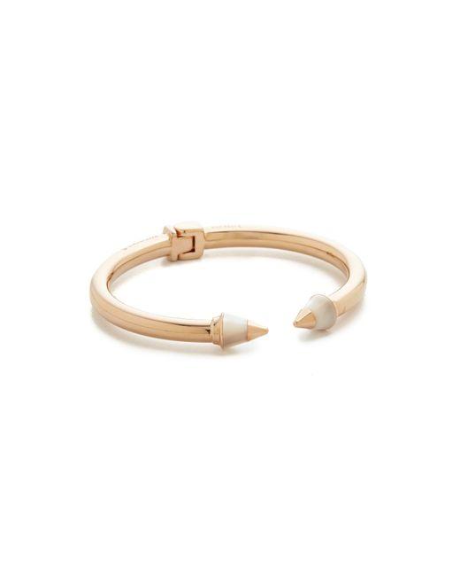 Vita Fede | Metallic Mini Titan Metal Tip Stone Bracelet | Lyst