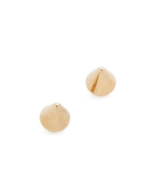 Vita Fede | Metallic Ultra Mini Cone Stud Earrings | Lyst