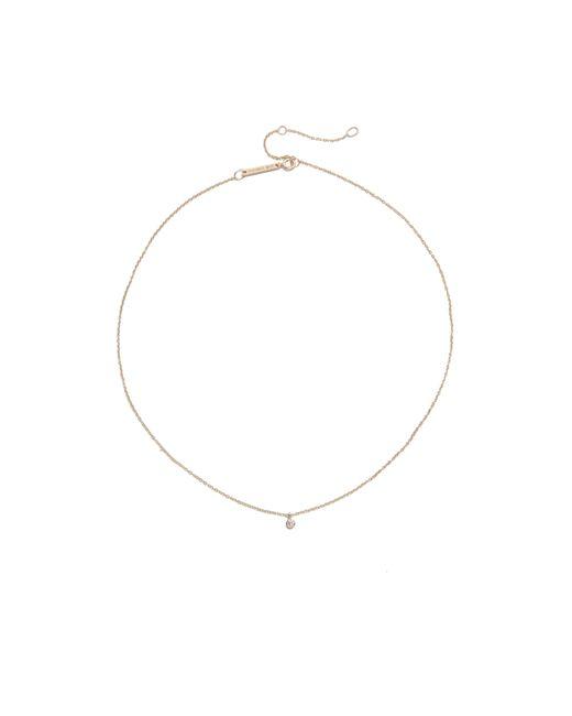 Zoe Chicco | Multicolor One Diamond Chain Choker Necklace | Lyst