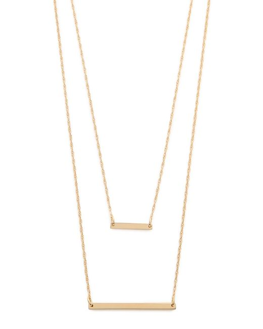 Jennifer Zeuner | Metallic Cynthia Necklace | Lyst