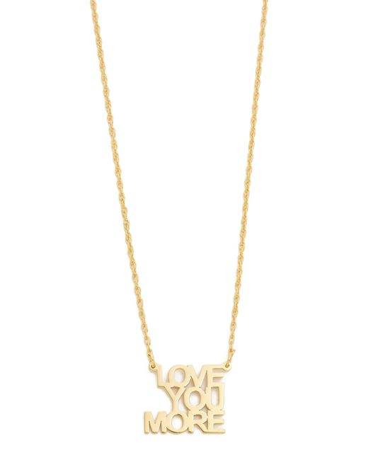 Jennifer Zeuner | Metallic Love You More Necklace | Lyst
